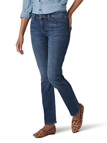 Lee Women's Regular Fit Straight Leg Jean, Seattle, 12 Petite