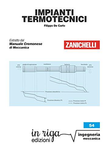 Impianti termotecnici: Coedizione Zanichelli - in riga (Ingegneria Vol. 72)