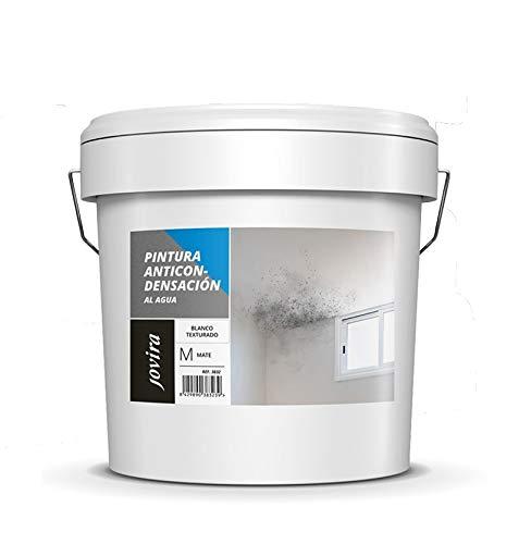 ANTICONDENSACION Antihumedad Antimoho, anti-condensacion antimoho exterior-interior. Eficaz para paredes de yeso, hormigon, cemento. (8 L, BLANCO)
