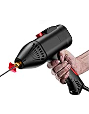 Andoer 220V 3000W Handheld Portable Electric Welding Machine Home Automatic Digital Intelligent Welding Machine Current Thrust Adjustment Knob Suitable for 2.5/3.2mm Electrode 2~14mm Welding Thickness