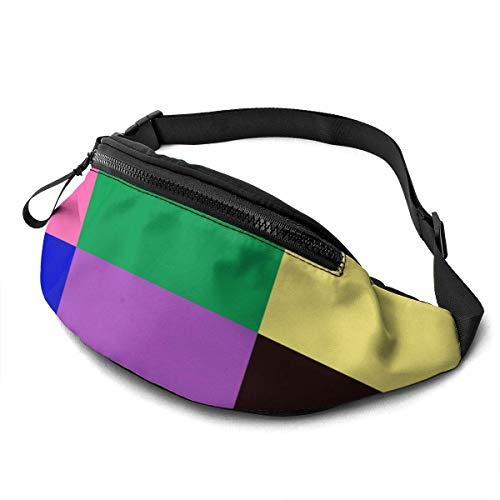 Gürteltasche Bauchtasche Multifunktionale Hüfttasche Sport Laufen Laufgürtel Pop Art Style Schere Icon