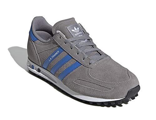 adidas LA Trainer J - Zapatillas para niño, color gris, color Gris, talla 38 EU