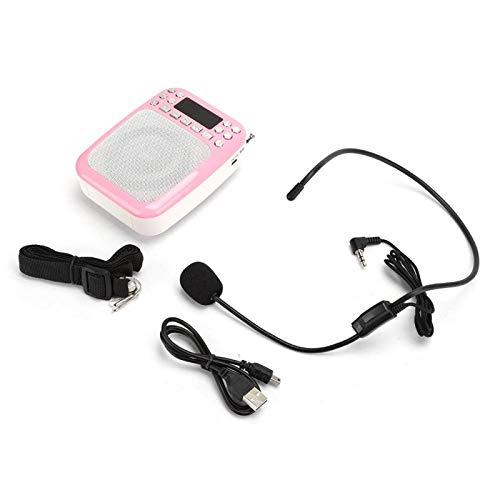 Mxzzand Batería de Gran Capacidad M301 Altavoz MP3 Recargable Altavoz Radio FM,...