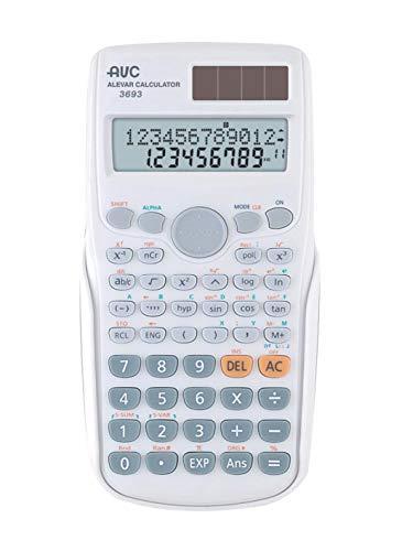 calculadora AVC científica 240funciones blanca