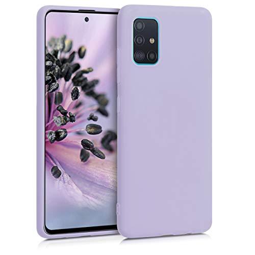 kwmobile Hülle kompatibel mit Samsung Galaxy A51 - Handyhülle - Handy Hülle in Lavendel