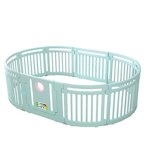 Baby GUO Playpen Kids Centre De La Sécurité Toddler Play Yard Home Floor Game Clôture Indoor Outdoor Kids Nursery Center avec La Porte De Verrouillage pour Les Enfants 10 Mois ~ 6 Ans