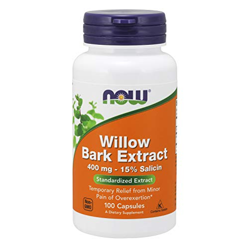 Now Foods White Willow Bark-100 gélules - 400 mg