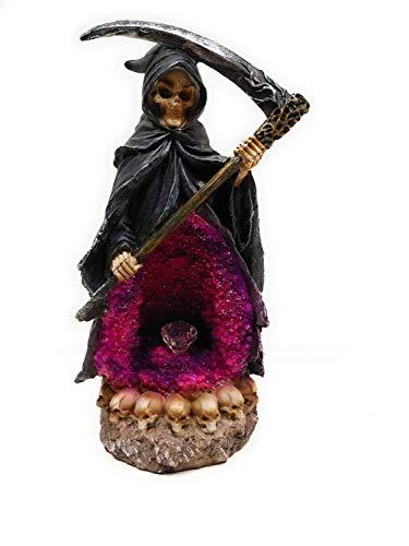 Fantasy Gifts 2932 Grim Reaper Incense Backflow Burner LED Multicolor