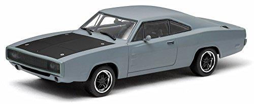 グリーンライト 1/43 ダッジ チャージャー 1970 Fast&Furious (ワイルドスピードMAX) プライマーグレー