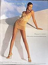 VICTORIAS SECRET CATALOG RESORT 2001 ADRIANA LIMA COVER