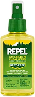 REPEL Plant-Based Lemon Eucalyptus Insect Repellent, Pump...