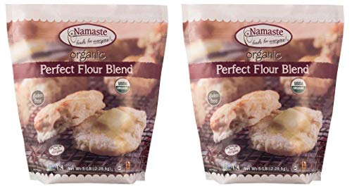 Namaste Foods Organic Perfect Flour Blend, 5 Pound – Gluten-Free Flour Blend (Two Pack)
