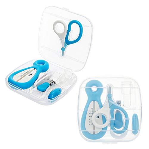 Juego de manicura para el cuidado del cuidado del bebé de 6 uds, Cortaúñas especial de la salud del bebé, peine, tijeras de seguridad, traje las uñas, producto para el cuidado del bebé