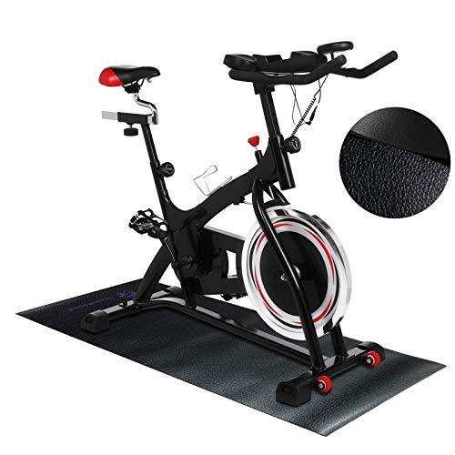Treadmill Doctor Bike Mat for Home Fitness Equipment - 2' X 4.3'