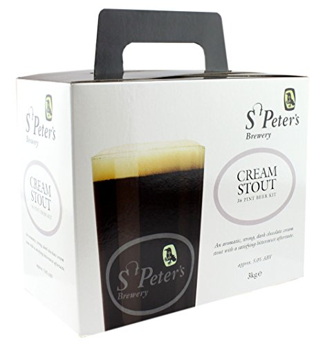 St Peters Brewery - kit para hacer cerveza negra cremosa