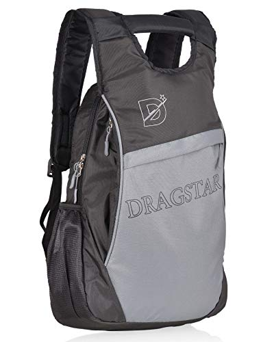 DRAGSTAR Hero 30 LTR Grey Casual/Travel Backpack with Laptop Compartment (DRG-012)(Grey,Black)
