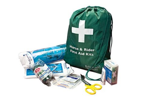 William Hunter Equestrian Horse and Rider First Aid Kit - White