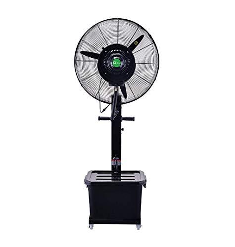 GONGFF Ventilador de enfriamiento de Ahorro de energía para el hogar - Ventilador de nebulización de enfriamiento oscilante Humidificador de Negocios de la Industria Grande Ventilador de Altura