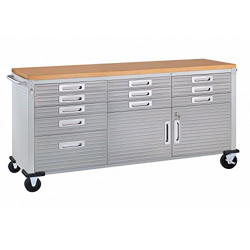 Seville Classics Ultrahd Rolling Workbench (Granite)