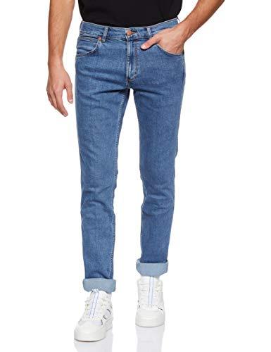 Wrangler Herren Jeans Greensboro Freewheelin, Blau (Midstone 091), 30W/L32