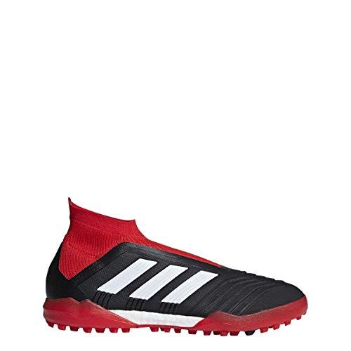 adidas Predator Tango 18+ - Zapatillas de fútbol para hombre, rojo (Core Negro/Nube Blanco/Rojo), 44.5 EU