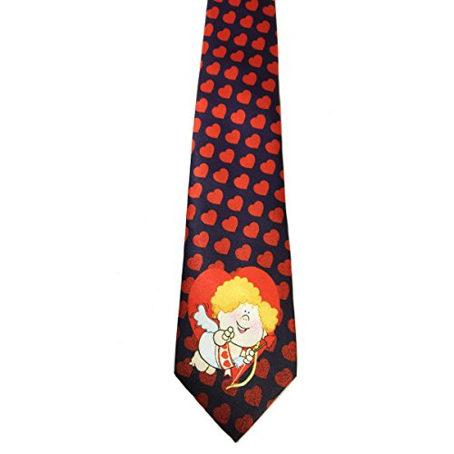 Product Image 5: Stonehouse Collection Men's Assorted Holiday Ties – 6 Fun Neckties – Tie Assortment – Christmas, Thanksgiving, Valentines, St Patricks, Easter, 4th of July
