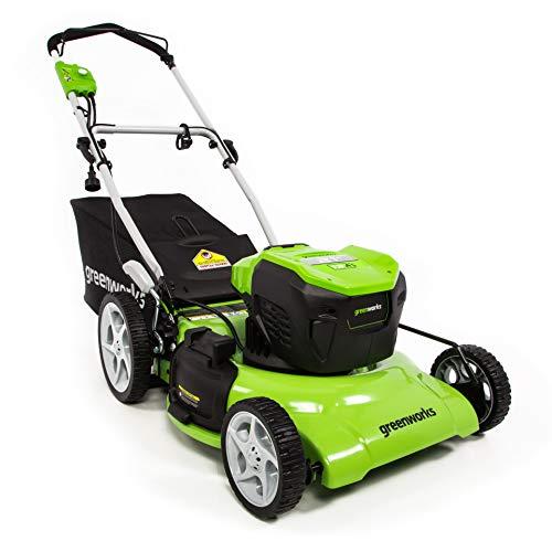 Greenworks 13 Amp 21-Inch Electric Lawn Mower, MO13B00 (Lawn & Patio)
