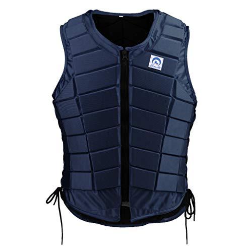 B Blesiya EVA vadderad ryttare skyddande väst, ridning kroppsskydd säkerhet väst – bekväm och lätt Women S