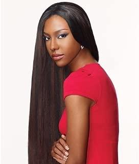 Goddess Select Remi Human Hair Weave - Yaki Weaving (14 inch, 4 - Light Brown)