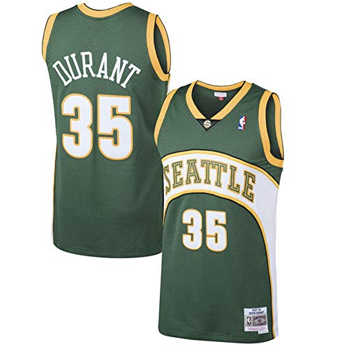 Outerstuff Youth Kevin Durant Seattle Supersonics Green Hardwood Classic Jersey (Youth Large)