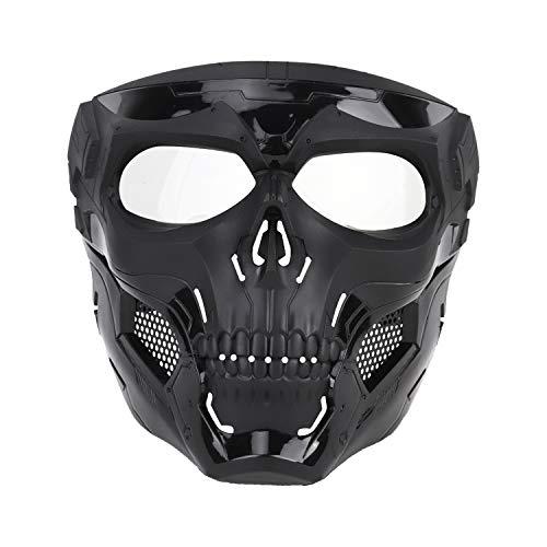 Velity Full Face Airsoft Maske, Taktische Maske für Outdoor Paintball, Airsoft, Halloween, Cosplay, Kostümpartys