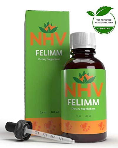 NHV Felimm - All Natural Herbal Supplement That Helps Pets with Feline Leukemia...