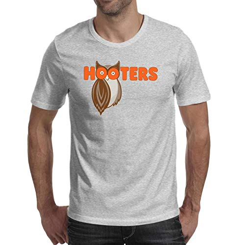 JMJMJMAS Street Fashion T-Shirts Hooters-Restaurant-T Shirts for Men