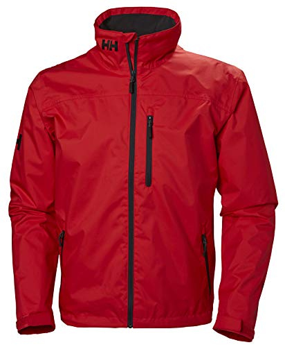 Helly Hansen Men's Crew Midlayer Waterproof Jacket - Waterproof, Windproof and Breathable Fabric, Full-Zip Jacket with…