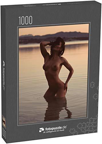 Puzzle 1000 Teile Sexy nackte 40er Jahre unbekleidete Frau - Klassische Puzzle, 1000 / 200 / 2000 Teile, edle Motiv-Schachtel, Fotopuzzle-Kollektion 'Erotik'