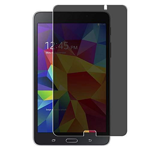 Vaxson Protector de Pantalla de Privacidad, compatible con Samsung Galaxy Tab 4 SM-T230 / T231 / T235 7' Tab4 [no vidrio templado] TPU Película Protectora Anti Espía