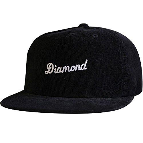 Diamond Supply Co. City Script Snapback Black