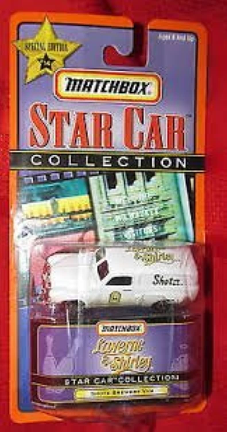 Matchbox Star Cars Laverne & Shirley Shotz Brewery Van1998 Mint by Matchbox