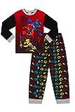 Power Ranger Power Up - Pijama largo rojo de 2 a 7 años