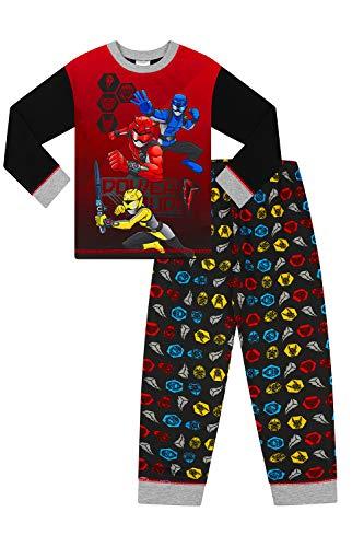 Power Ranger Pijama largo rojo Power Up de 2 a 7 años