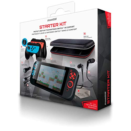 Advanced Gamer's Starter Kit DREAMGEAR for Nintendo Switch