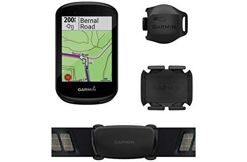 Garmin GPS Mano Ciclismo Edge 830 Pack Unisex Adulto, Negro(