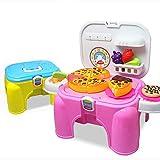 ClookYeed Pizza geschnitten, um den Spielzeugstuhl Simulation von Obst und Gemüse Puzzle Spiel...