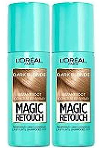 Corrector instantáneo para las raíces Magic Retouch de L'Oreal Paris, 75 ml, 2 unidades