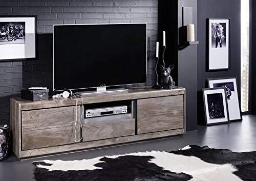 MASSIVMOEBEL24.DE TV-Board #215 Sheesham Palisander Sydney modern lackiert