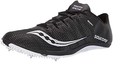 Saucony Men's Endorphin 2 Track Shoe, Black/White, 9.5 Medium US
