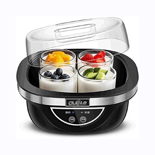 XJJZS Inicio Yogur Hecho en casa Que Hace la máquina 2L automático eléctrico Fabricante de Yogur El Yogur Crema Máquina Herramienta de Toma de Yogur