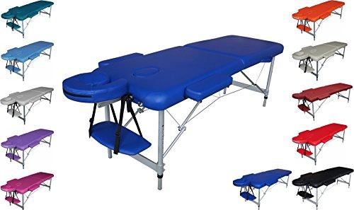 Polironeshop Titano Lettino in Alluminio No Schienale Portatile 13kg per Massaggi Estetista