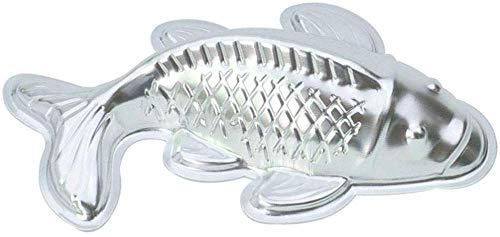 Backformen Pralinenformen Besondere Backformen 10 Zoll Fisch Karpfenförmiges Aluminium 3D Backform Backform Blechkuchenform - Fisch