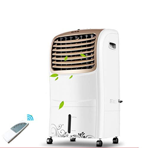 PIGE Ventilateur de climatiseur simple froid avec télécommande Ventilateur de climatisation mobile Climatiseur refroidi à l'eau Avec déshumidificateur Refroidisseurs par évaporation Muet à économie d'